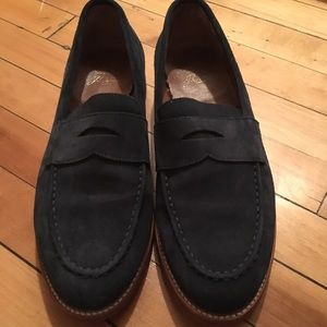 86dd4fdbc1c J. Crew Shoes - J Crew Kenton Suede Penny Loafers